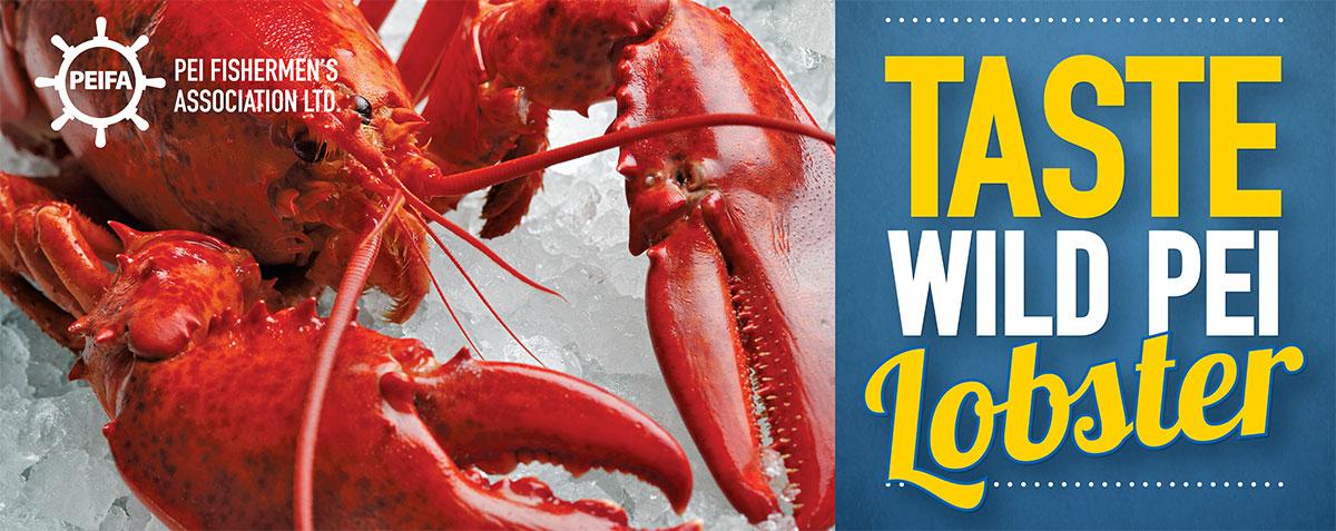 Taste Wild PEI Lobster!